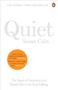 Book cover: Quiet by Susan Cain