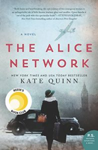 Book cover: The Alice Network by Kate Quinn