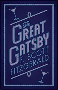 Book cover: The Great Gatsby by F. Scott Fitzgerald