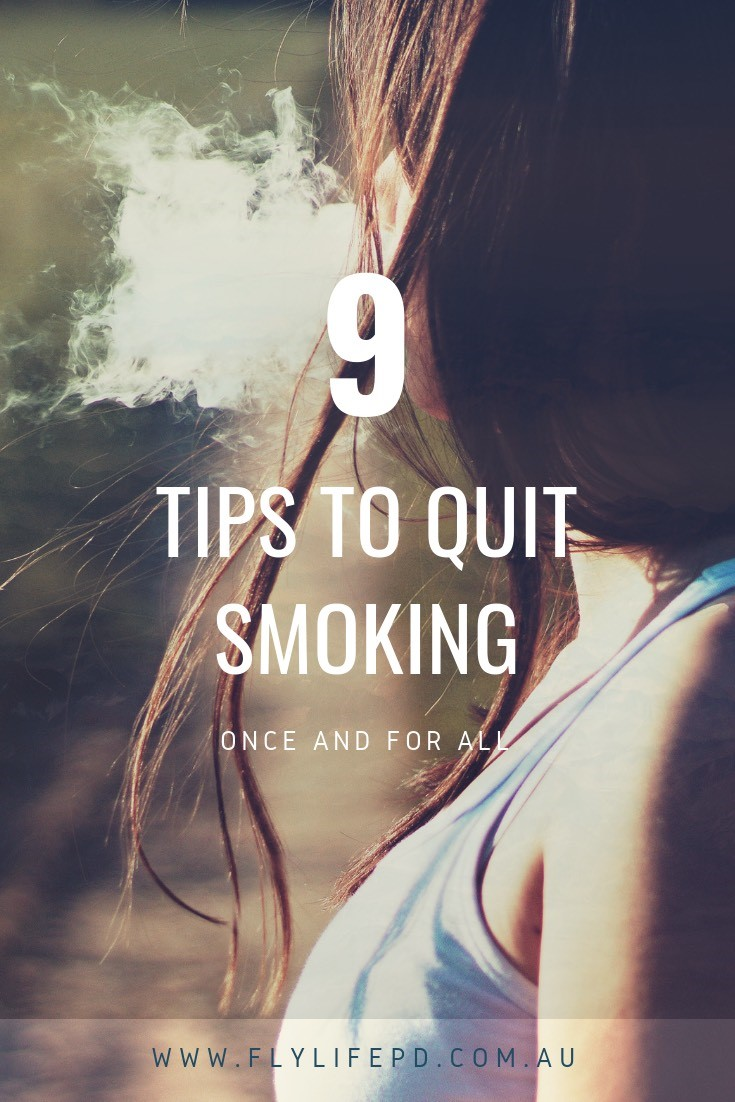 Quit smoking once and for all