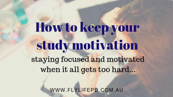 How to keep your study motivation